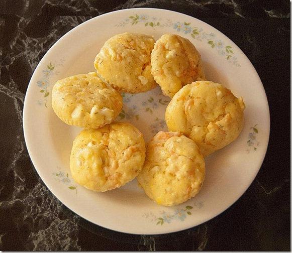 muffin saumon feta