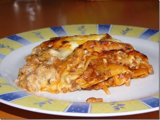 Lasagne à la bolognaise (4/4)