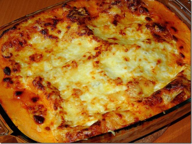 Lasagne à la bolognaise (2/4)