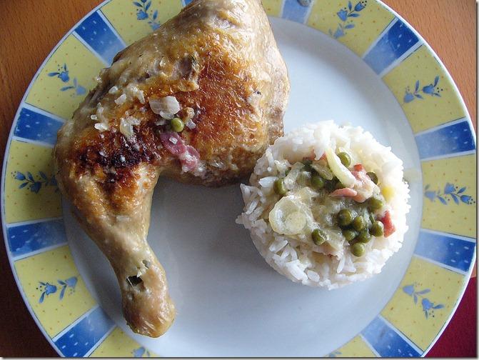poulet pancetta