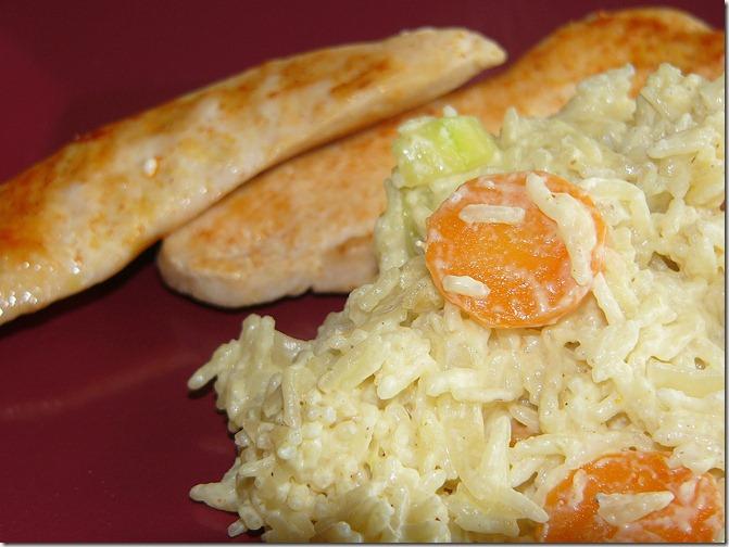 poulet riz jaune