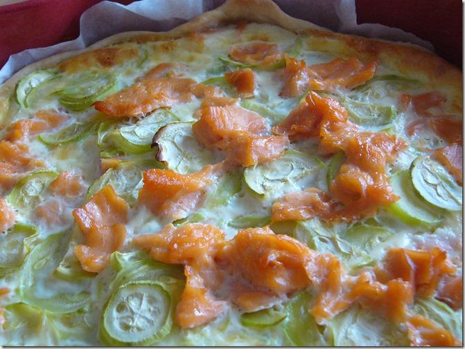 quiche courgette saumon (2)