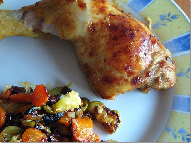 poulet mexicano