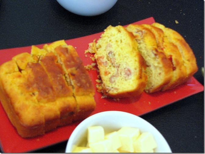Cake Au Jambon Tomate Confite