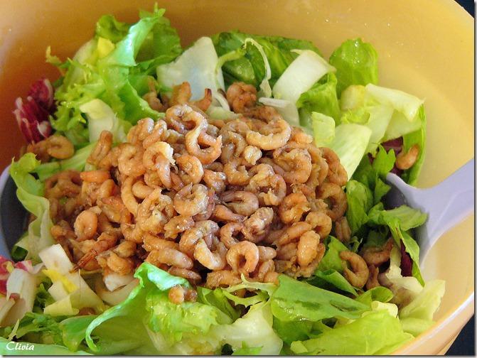 salade acidulée crevette