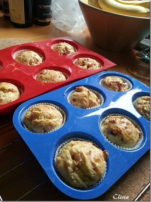 muffin jambon fromage