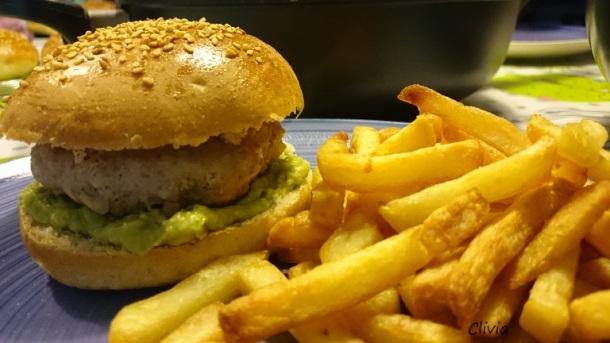 burger veau