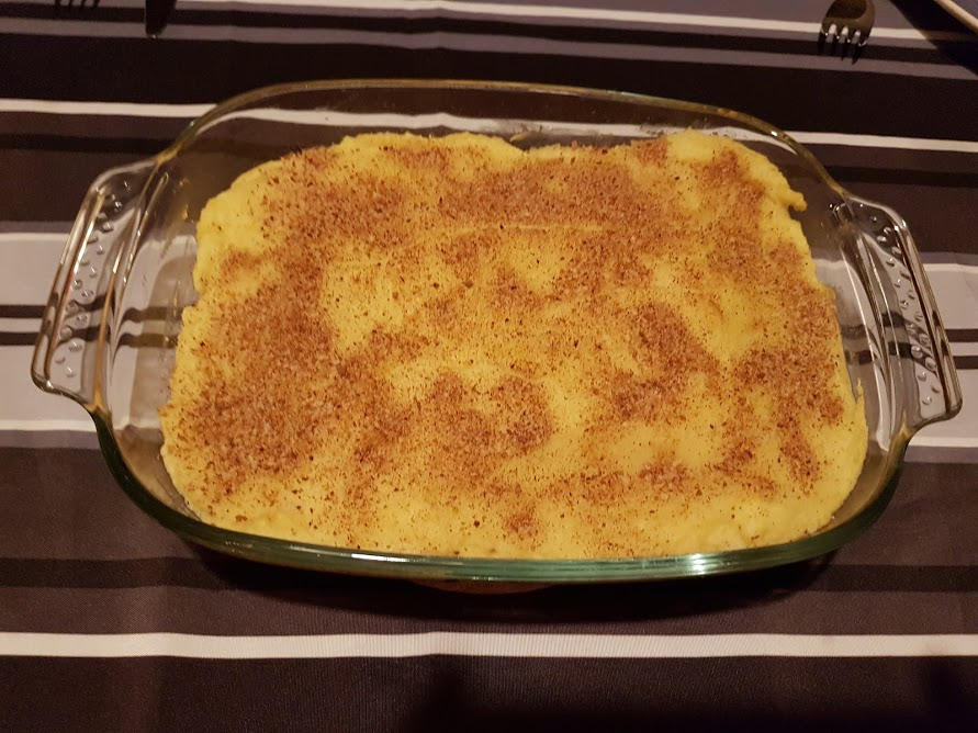 parmentier cabillaud curry